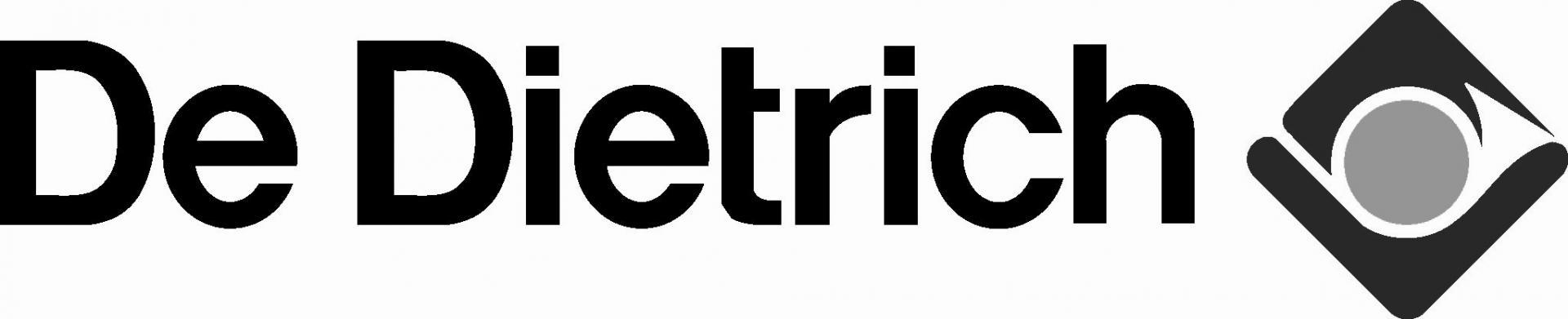 De dietrich logo b amp w